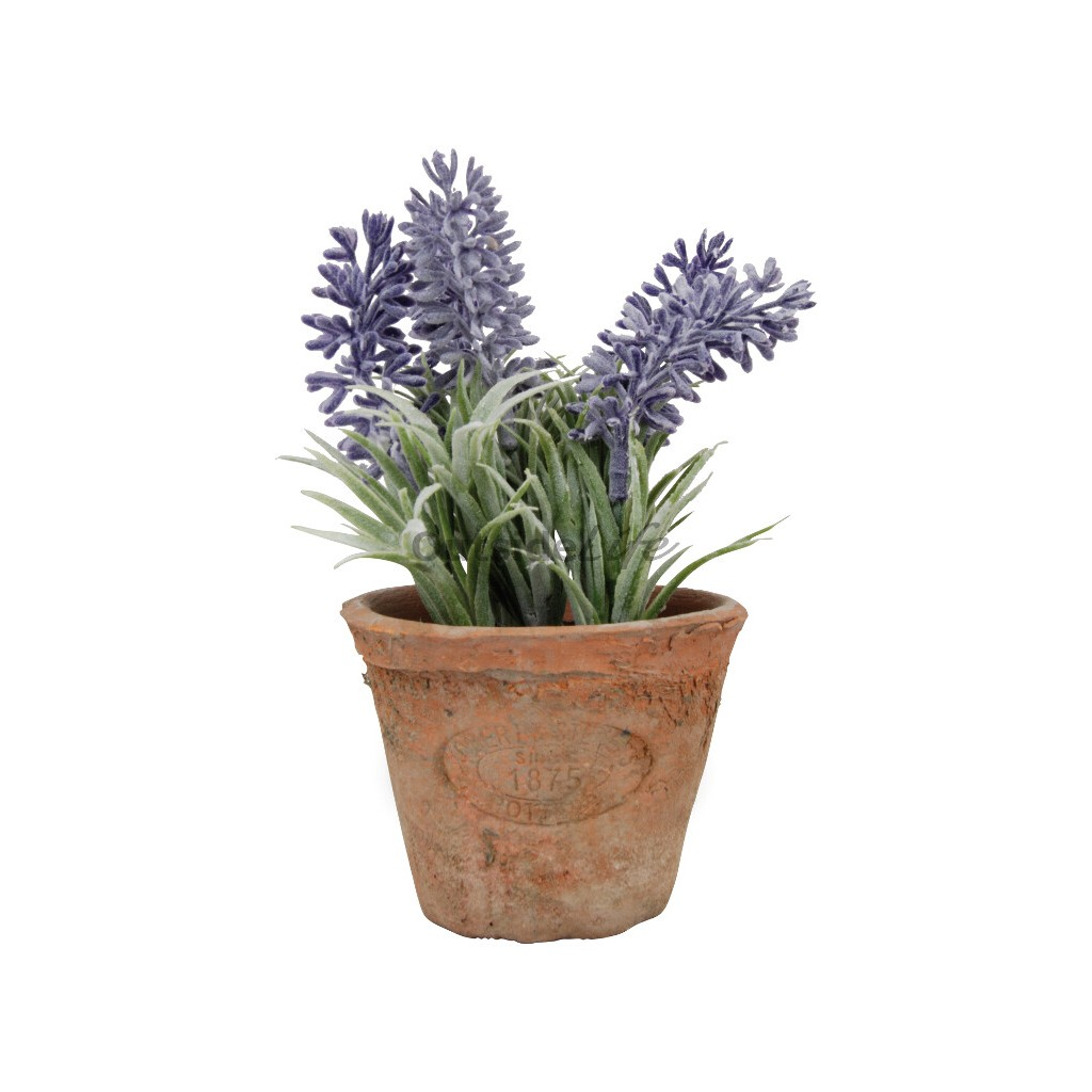 Lavendel in AT pot S (Esschert Design - AH009 - 8714982086946) 1