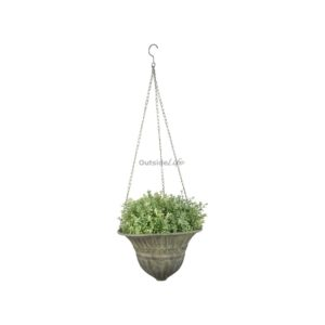Aged Metal Green hanging basket S (Esschert Design - AM72 - 8714982115721) 1