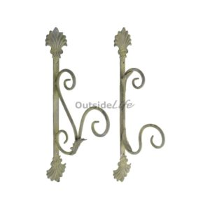Aged Metal Green haken ass. (Esschert Design - AM75 - 8714982115752) 1