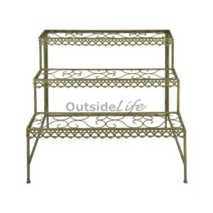 Aged Metal Green etagere (Esschert Design - AM76 - 8714982115769) 1