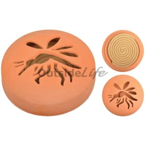 Citronella spiralen in terracotta 1