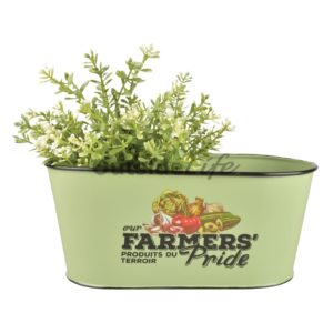 Farmers' Pride flower pot oval (Esschert Design - FP009 - 8714982109027) 1