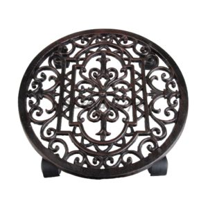 Planttrolley klassiek rond (Esschert Design - TG21 - 8714982005718) 1