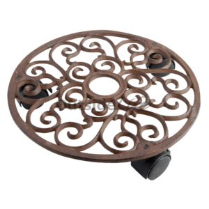Planttrolley rond S (Esschert Design - TG39 - 8714982012815) 1