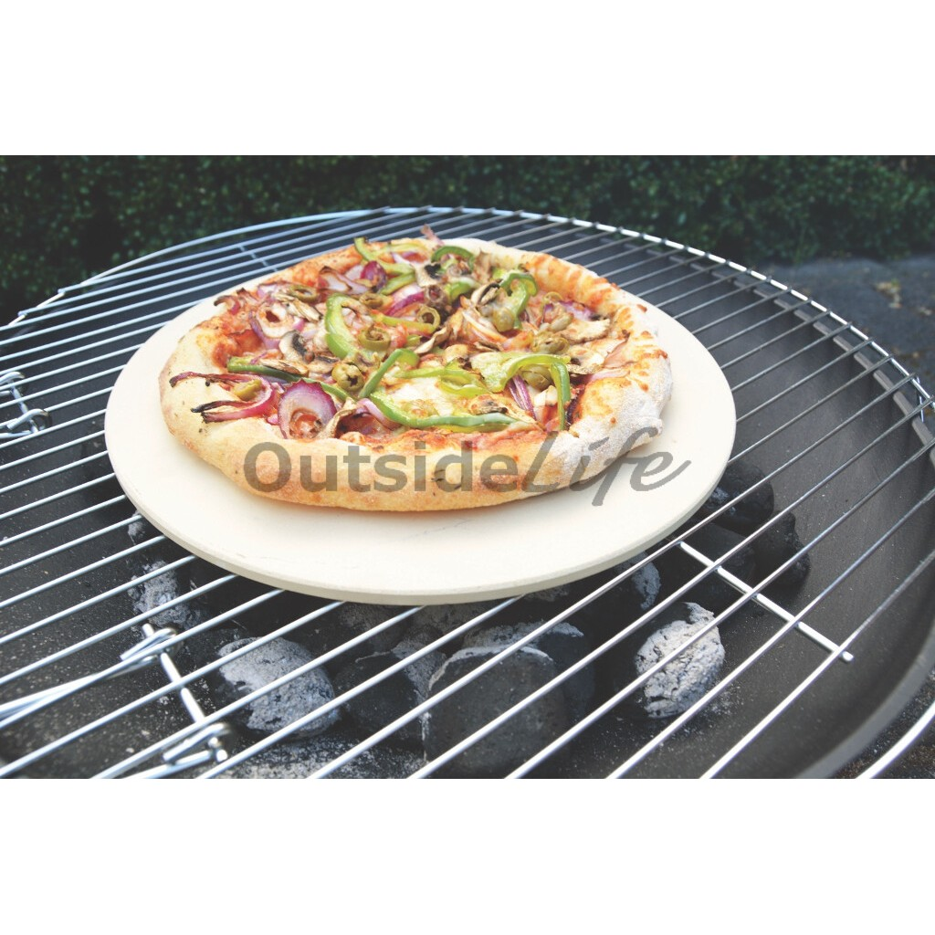 Pizza steen (Esschert Design - FF275 - 8714982131165) 3