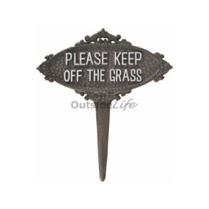 Keep off the grass bord (Esschert Design - TT207 - 8714982131035) 1