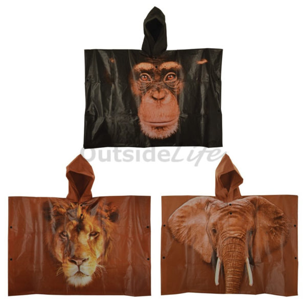 Kinderponcho out of Africa (Esschert Design - KG162 - 8714982113833) 1