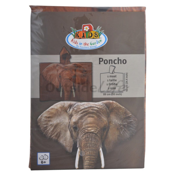 Kinderponcho out of Africa (Esschert Design - KG162 - 8714982113833) 5