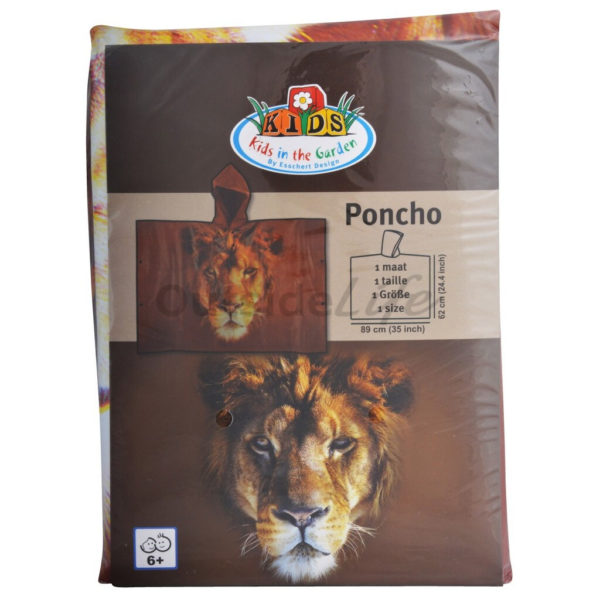 Kinderponcho out of Africa (Esschert Design - KG162 - 8714982113833) 10