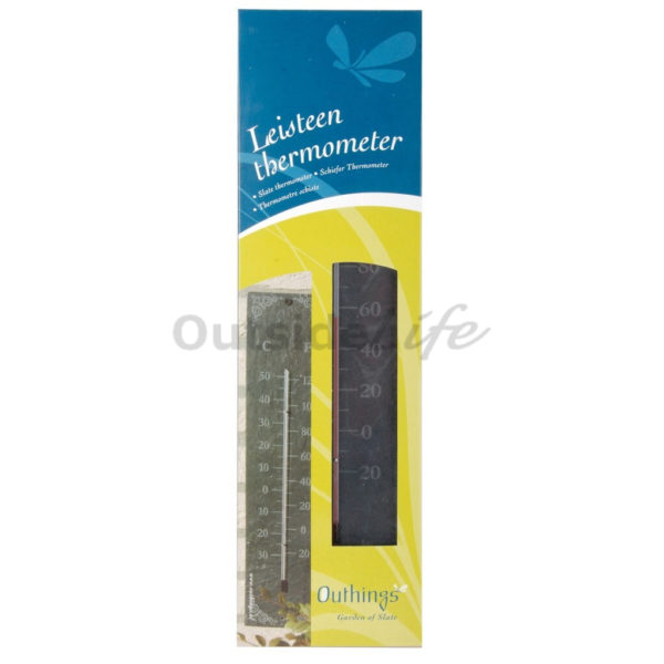 Leisteen thermometer klassiek (Esschert Design - LS006 - 8714982014260) 3