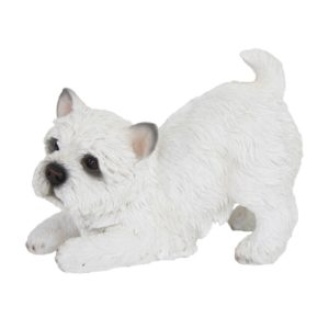 Esschert Design West highland terrier spelend (37000406