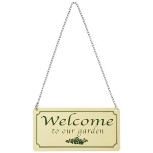 "Esschert Design Bord ""Welcome to our garden"" (LH192"